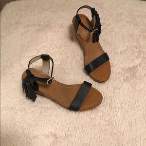 Boden Women's Size 37- US 6 Navy Wedges